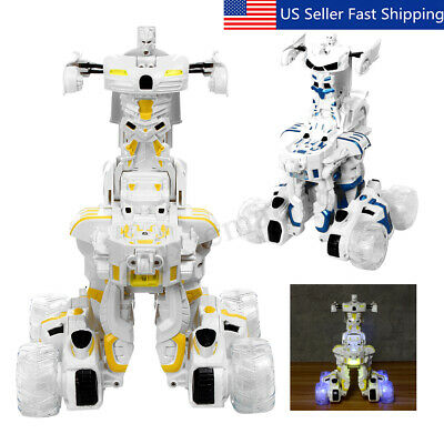 Smart Robot Toys Remote Control Transform Robot Xmas Gift for Kids' 'Boys