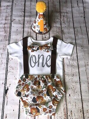 Baby Boy 1st Birthday Cake Smash Prop  Lion King Outfit Handmade