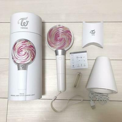TWICE Official pen Light Stick Mood light CANDY BONG goods 2019 dome tour