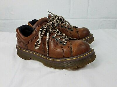 "Dr. ""Doc"" Martens ""8312"" dark brown leather oxfords US 7Mens / US 8 Ladies"