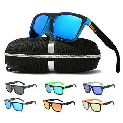 DUBERY Polarized Sunglasses Square Cycling Sport Driving Fishing With Box