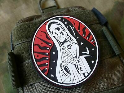 Jackets To Go JTG Santa Muerte 3d Rubber Patch Airsoft milsim