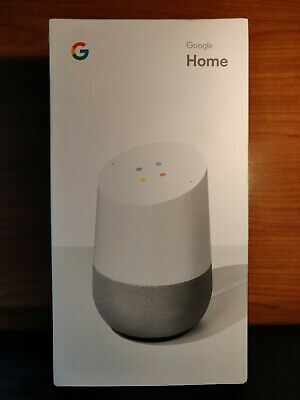 Google Home Voice Activated Smart Speaker Assistant **UNOPENED & FREE POSTAGE**