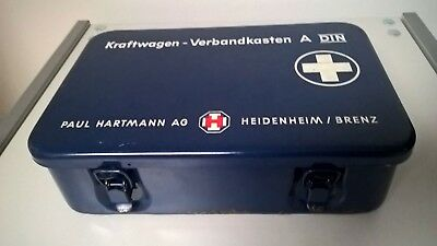 Metal Vintage First Aid Kit Box - VW Camper / VW Beetle BMW Mercedes Porsche