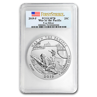 2019-P Silver ATB War in the Pacific SP-70 PCGS (FS) - SKU#195120