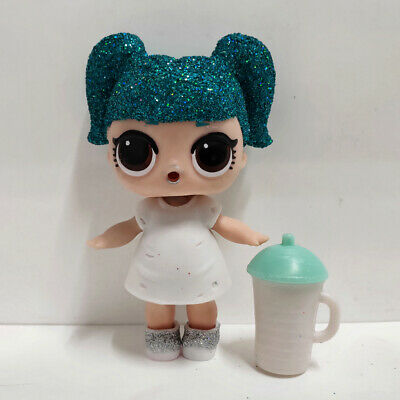 lol doll Big Sister Serie Glitter Blue Hair White Dress Girls Birthday Gift