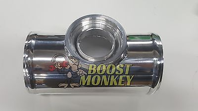 Boost Monkey 2.5 Aluminum Universal Flange Charge Pipe For HKS SSQV//SQV BOV Blow Off Valve Turbo Boost Monkey®