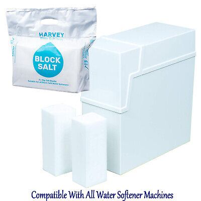 Harvey's Block Salt Compatible With All Water Softener Machines Natural UK Salt