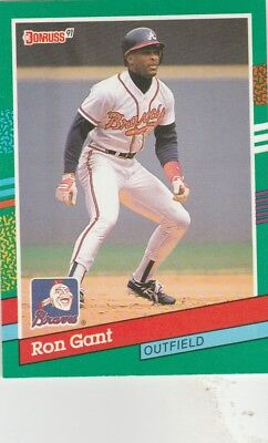 32 Different Ron Gant Cards Atlanta Braves Cardinals Reds