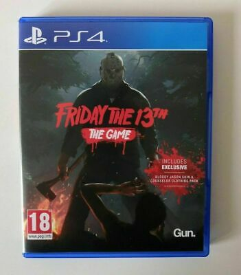 Friday The 13th The Game PS4 SAME DAY Dispatch [Order By 3pm]
