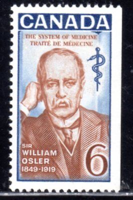 1969 Canada SC# 495i - Sir William Osler - Lot# 648a - M-NH