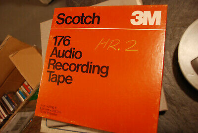 Reel-To-Reel Store: 10 Reels SCOTCH 176 blank tape.        ALL TEN FOR ONLY $45