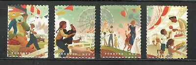 5401-5404 State And County Fairs Set Of 4 Mint/nh (A-99)