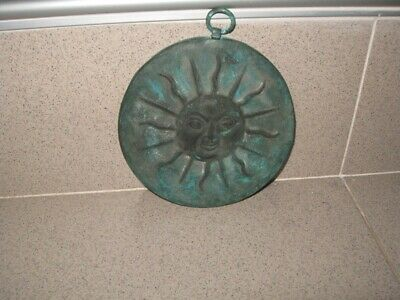 Ancient Old Massive Copper Roman Plate Replica