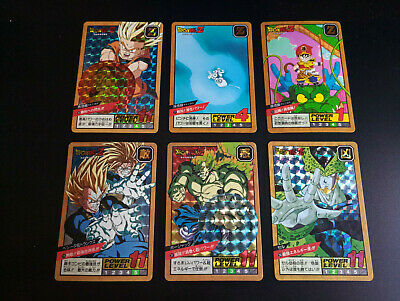 Dragon Ball Power Level Part 7 Prism Set Carddass dragonball
