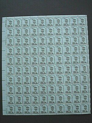 #1604 -  .28c 1978 Remote Outpost Issue Mint Sheet 100 U.S. Never Hinged Stamps