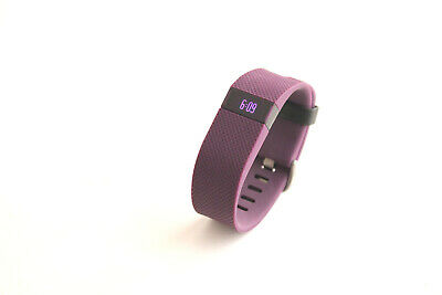 Fitbit Charge HR Wireless Activity Wristband - Large, Plum