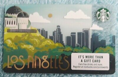 Starbucks Gift Collector card- USA Los Angeles 2019 release - new
