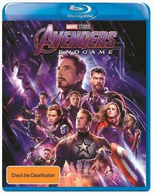 Avengers Endgame(2019) BLU-RAY Only PRE-ORDER 8-13-19 READ DESCRIPTION