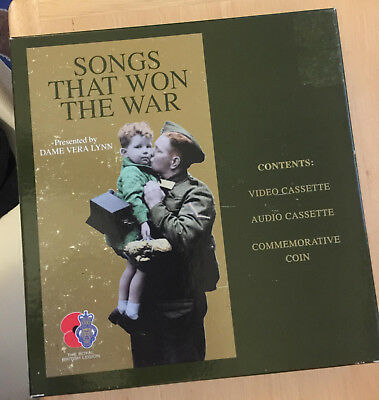 Songs that Won the War box set vhs & cassette tapes