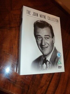 The John Wayne Collection (DVD, 2007, 3-Disc Set, Box Set)