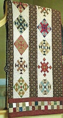 "Dream Catcher quilt kit 9 + yards of  fabric  fabric 68"" x 86"""