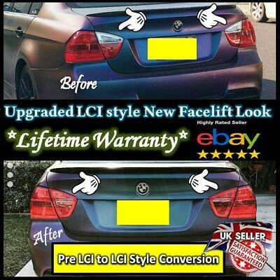 *SAVE ON LCI UPGRADE* BMW E90 + E91 3 Series LCI rear light Tint 2005 - 2009
