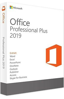 Microsoft Office 2019 For Windows - 1 User License