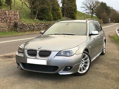 BMW 550i Sport touring E60 V8 Silver LPG drift spares or repair