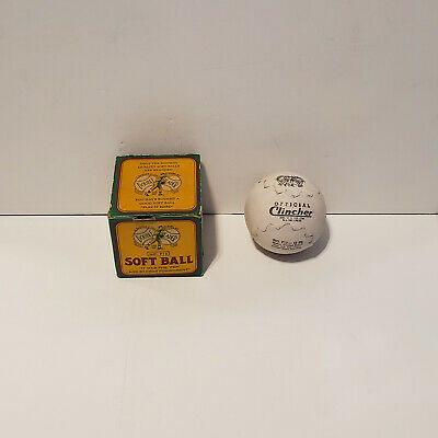 Vintage 1930's-50's J. deBeer & Son Double Header F12 Clincher Softball in Box