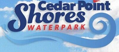 1 Single Day Ticket to Cedar Point Shores