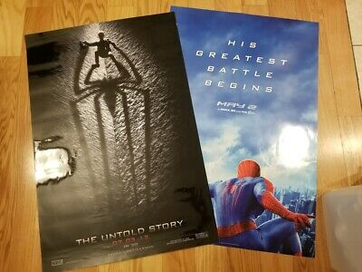 """The Amazing Spider-Man Movie Posters - Theater Size 27"""" x 40"""" - NEW - Set of 2"""