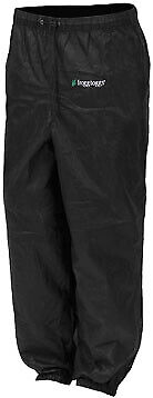 Frogg Toggs Pro Action Rain Pants Black PA83122-01-SM Sm