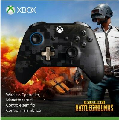 Microsoft - PUBG Limited Edition Wireless Controller for Xbox One Windows 10 UD