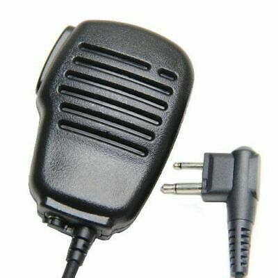 Walkie-talkie 2-Pin Shoulder Remote Speaker Mic For For Two-Way Radio EP450