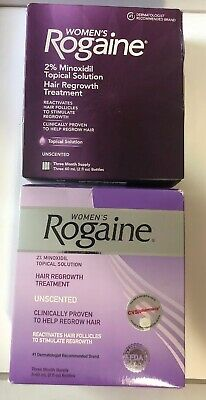 Lot of 2 New Rogaine Women Regrowth Hair Treatment 3 Month Supply Exp 2019/2023