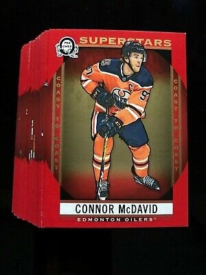 2018-19 OPC Coast To Coast Canadian Tire Red Parallel Superstars Set #101-150