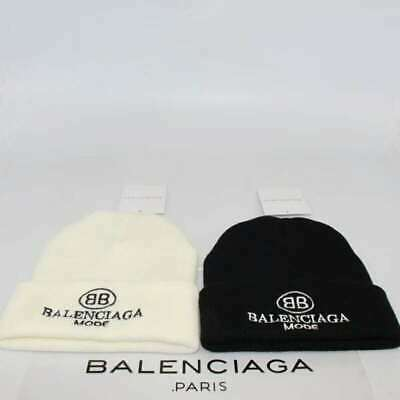 3a5fc6b15 NEW BALENCIAGA² THICK Hip-Hop Warm Winter Knit Ski Beanie Slouchy ...