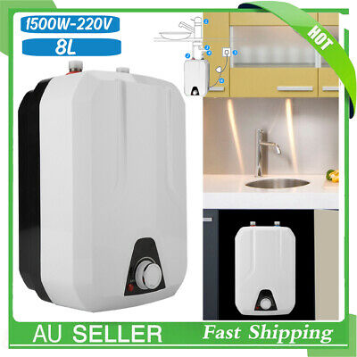 Instant Electric Water Heater Mini Under Sink Tap Faucet Shower Hot Water System