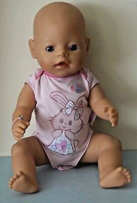Zapf Baby Born Doll - Dressed In Baby Born Outfit - 41 Cm
