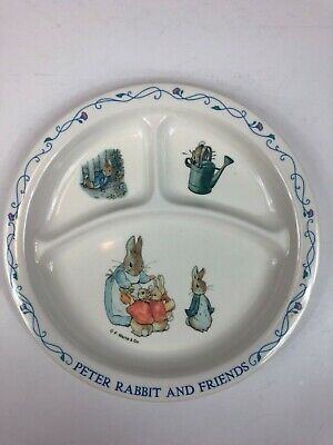 Peter Rabbit And Friends Plate By F. Warne And Co./Eden