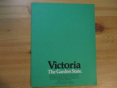 Victorian Ministry Of Tourism: Victoria The Garden State Brochure.