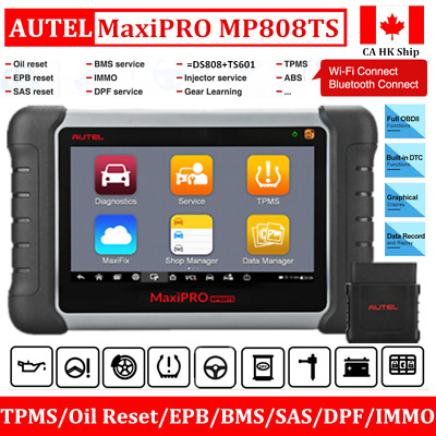 Autel MaxiPRO MP808TS All System OBD2 Diagnostic Scanner Tool =DS808/MS906+TS601