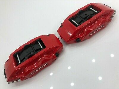 New Ap Racing 4 Pot Red Brake Calipers + Pads Lotus Exige Elise Evora Brembo