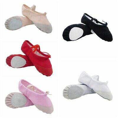 22 Sizes Ballet Dance Shoes Slippers Child Adult Pointe Dance Gymnastics NEW