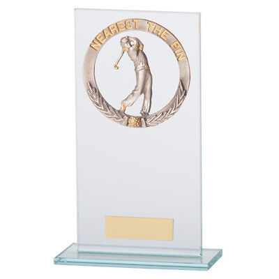 Jade Waterford Golf Nearest Pin Trophy Award 180mm FREE Engraving