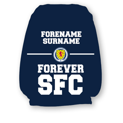 Scotland F.A - Personalised Headrest Cover (FOREVER)