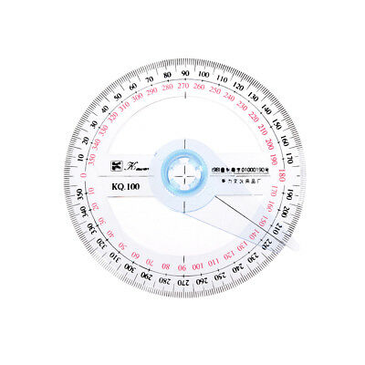 360Degree Protractor Angle Finder Sewing Student Office Engineer Tools Gift PVCA