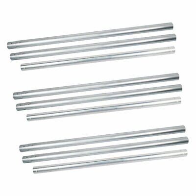UK 3PCS 3M Metal Background Crossbar Tube for Roller Backdrop Drive System