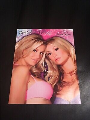 Bench Warmer 2006 The Costello Twins Jumbo Box Topper 2/5 NEW!